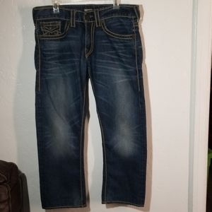 "True Religion ""Ricky"" Jeans Size 33 EUC"